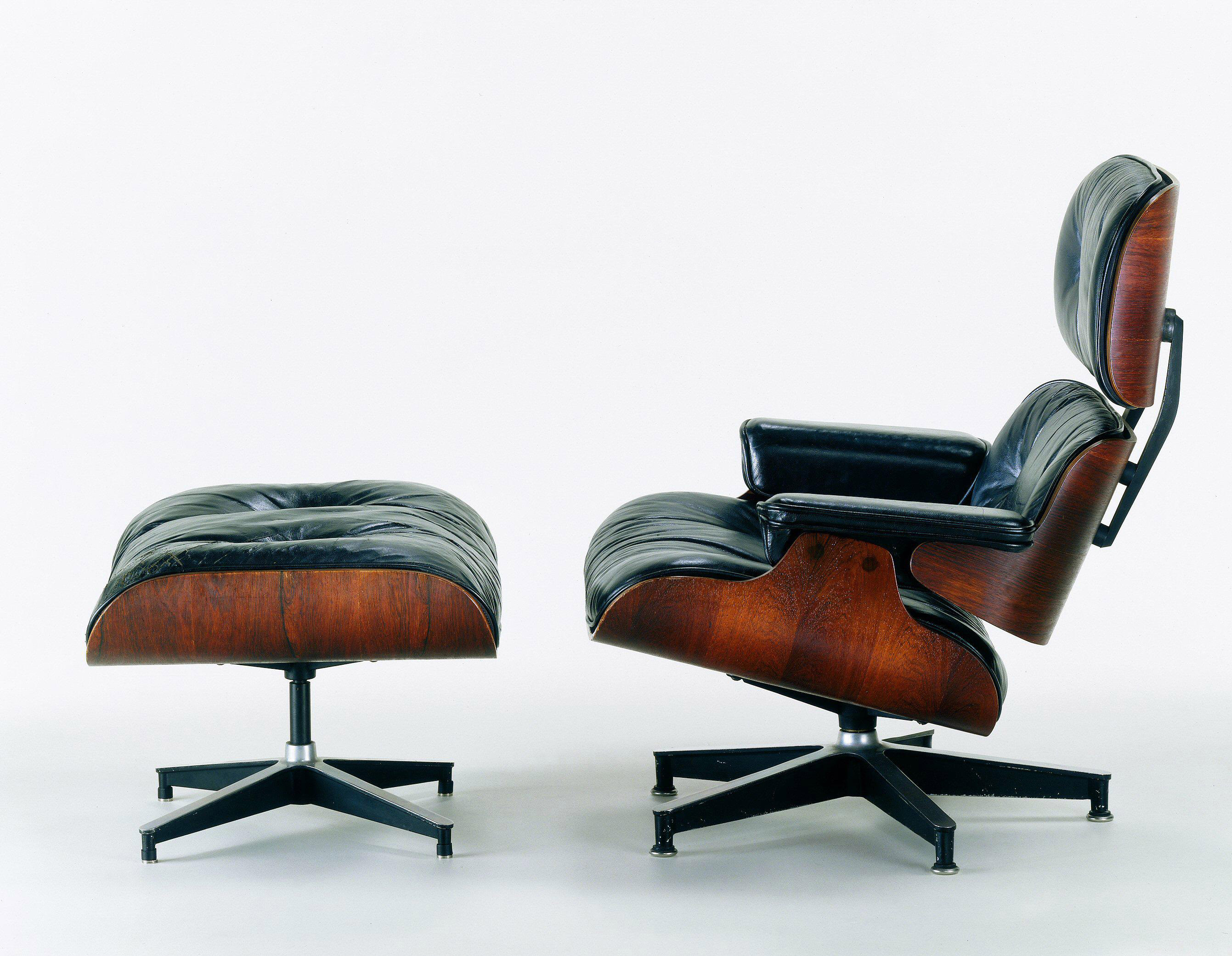 Eames lounge chair manufacturing in the vitra atelier for Famous scandinavian furniture designers