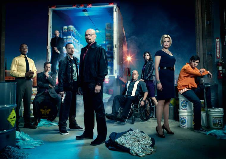 Breaking Bad Season 4 Studio Photos / The Superslice