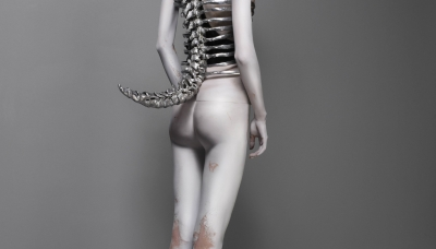 Spine Corset, Untitled, spring-summer 1998