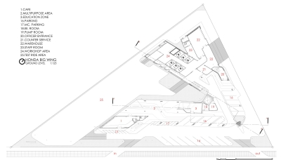01 ground floor plan © Spaceshift Studio
