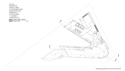 03 2nd floor plan © Spaceshift Studio