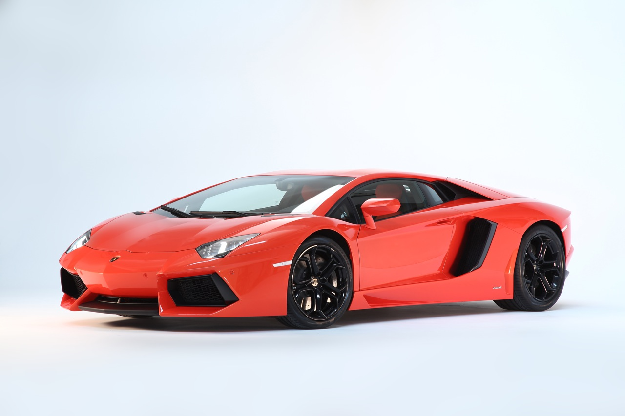 02 2012 Lamborghini Aventador LP700 4 Super Sports Car