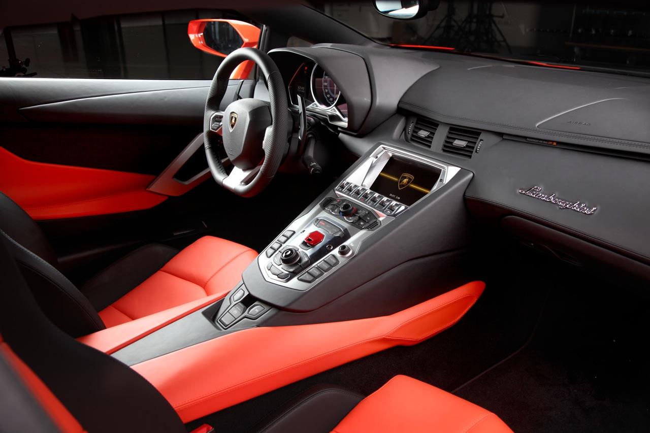 09 2012 Lamborghini Aventador Lp700 4 Dashboard View The Superslice