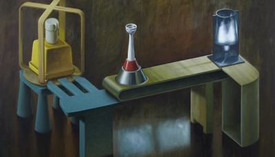 2011 Nuclear reactor, oil on wood panel, 80x120