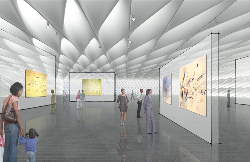 The broad art foundation diller scofidio renfro the superslice for Foundations of interior design