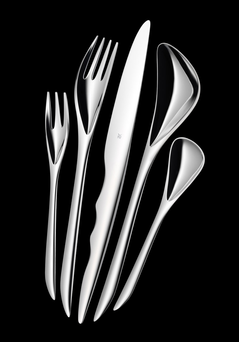 Zaha hadid form in motion philadelphia museum of art the superslice - Wmf silverware ...