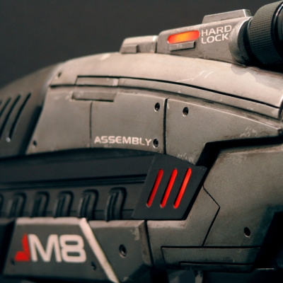 24 M8 Assault Rifle (Mass Effect 2)