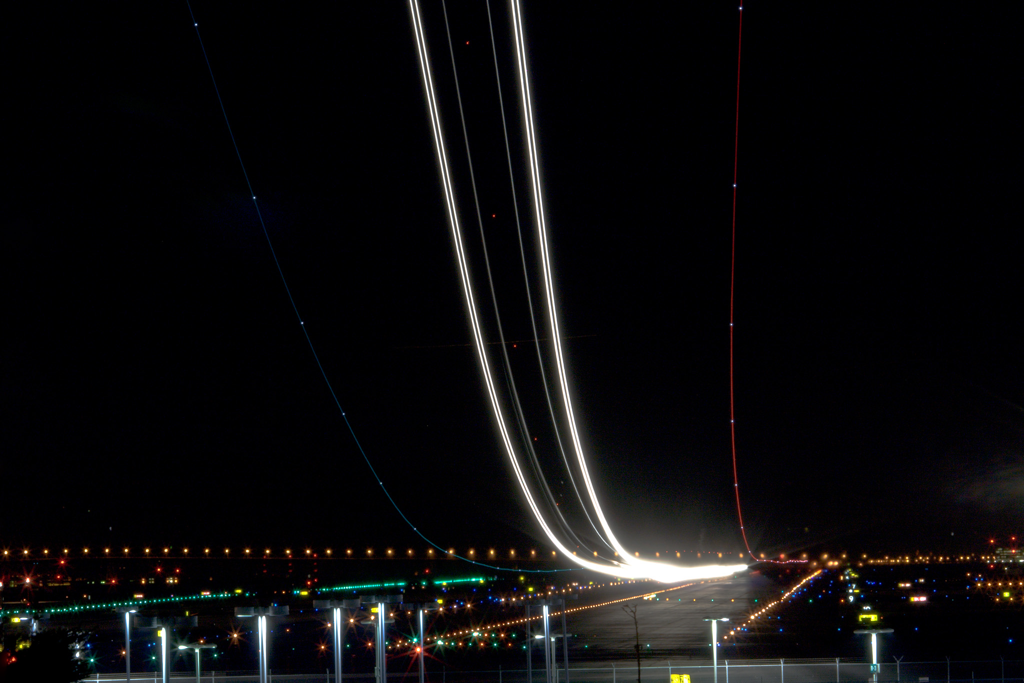 Long Exposure Airport ...