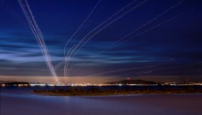 Landings on 28L-R