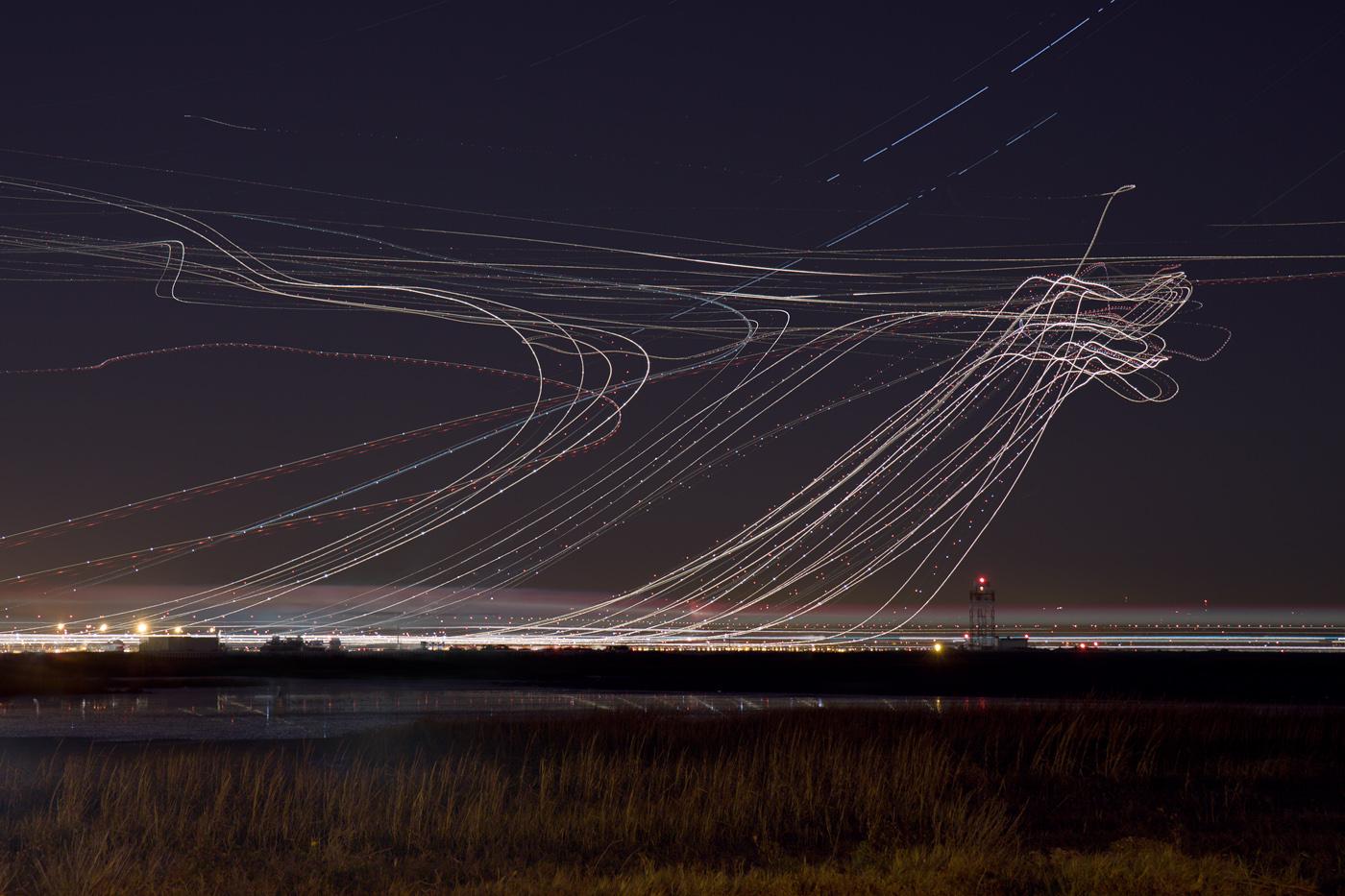 Long Exposure Night Sky