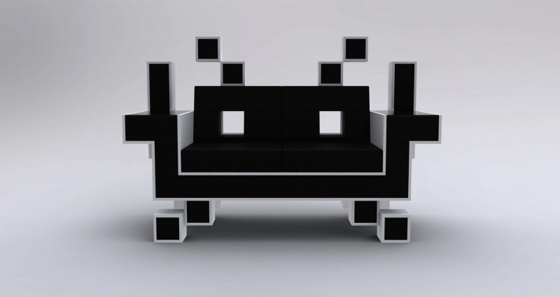 igor chak retro alien couch the superslice. Black Bedroom Furniture Sets. Home Design Ideas