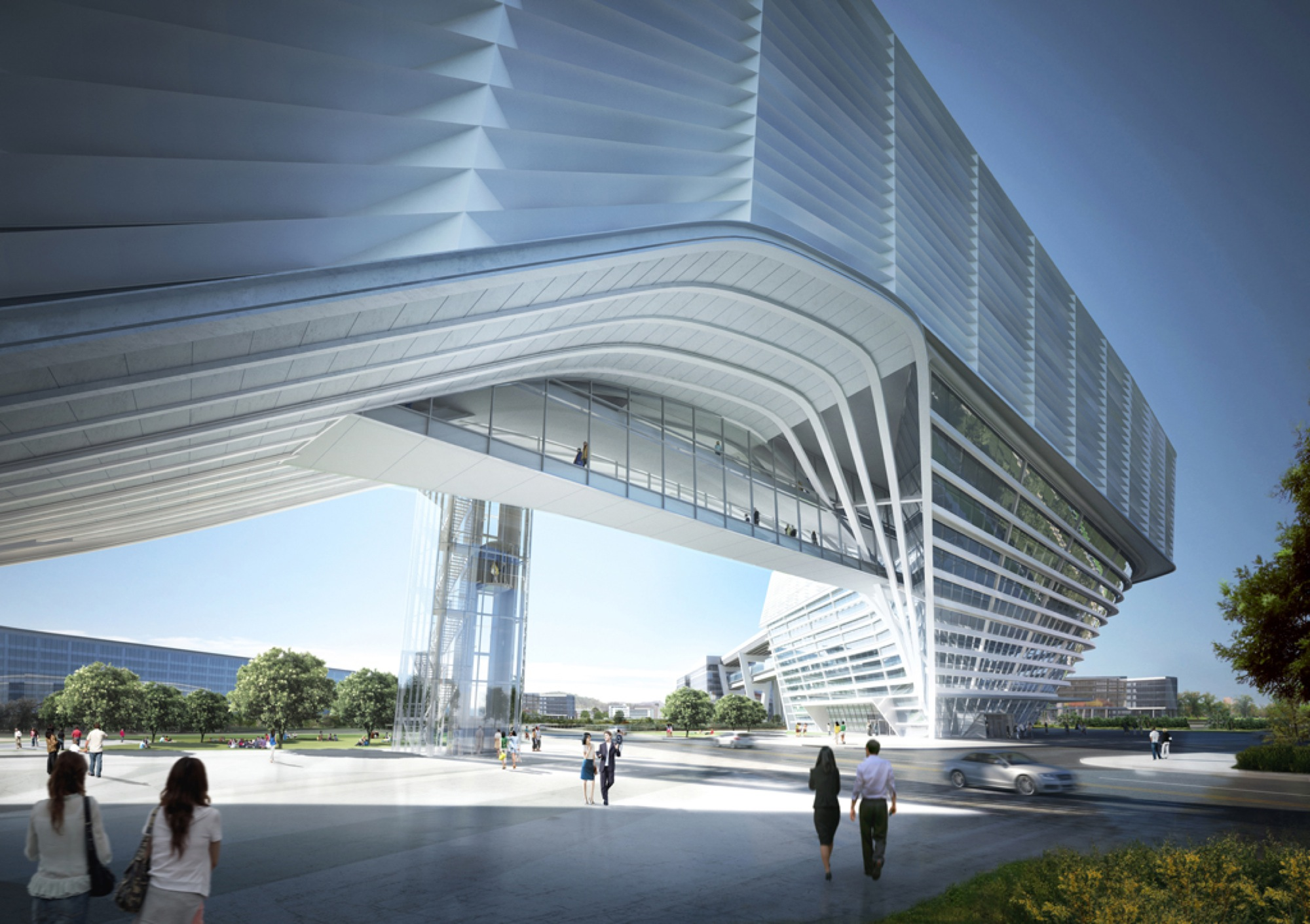 Government Building In Sejong City Tomoon Architects Engineers