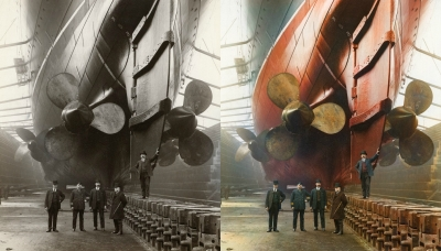 Canada Dock Liverpool 1909