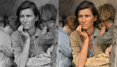 Migrant Mother by Dorothea Lange