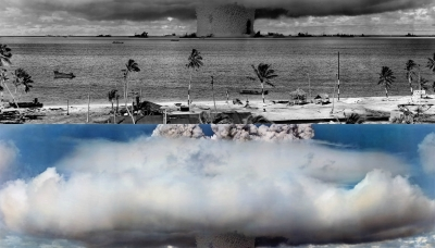 Operation Crossroads Baker at the Bikini Atoll