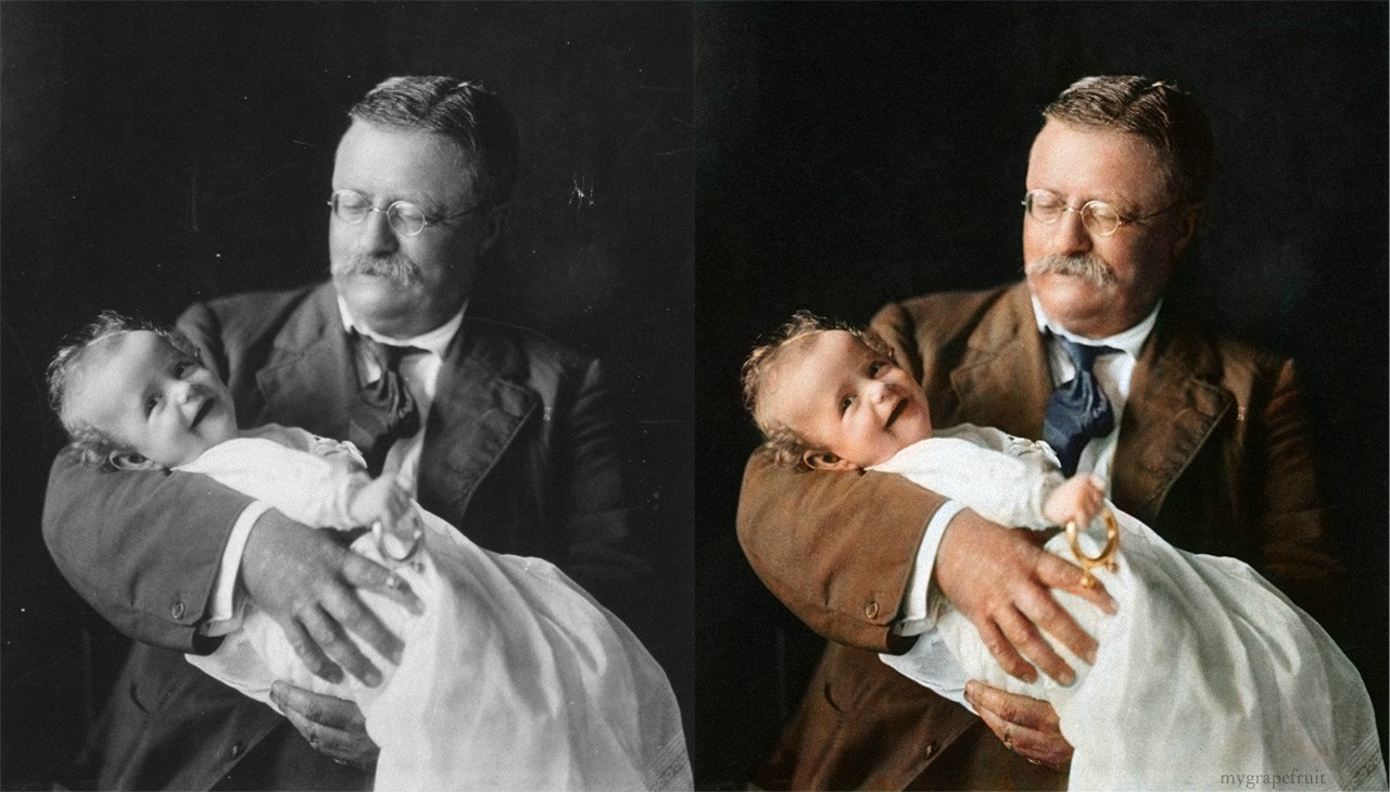 Colorized Famous Photos / Sanna Dullaway / The Superslice