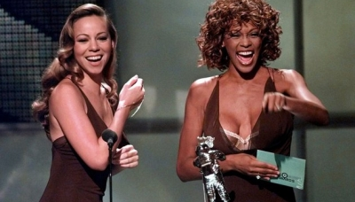 03 Mariah Carey and Whitney Houston September 1998