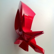 04 Small Glimpse Glossy, 2012, Sculpture made by plastic, Size - 14 x 9.8 x 7 inches