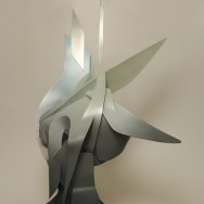 15 Sculpture made by PVC, Size - 3.4 x 31.1 x 16.3 inches