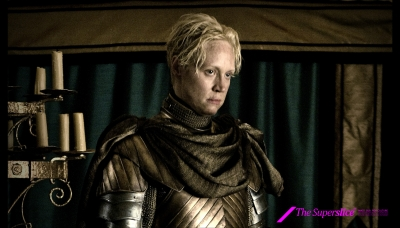 17 Brienne played by Gwendoline Christie