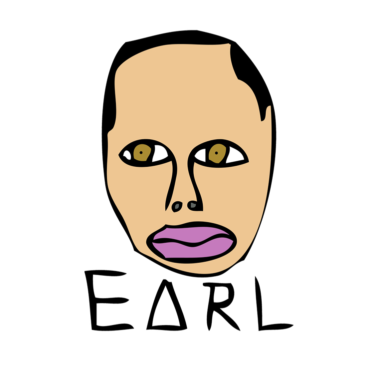 Earl Sweatshirt Marks LA Return w/ 1:48 Track / The Superslice Earl Sweatshirt Logo