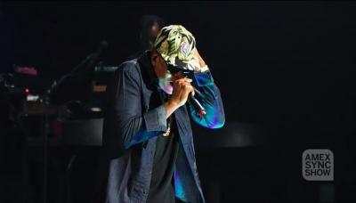 04 Jay Z Amex Sync Show