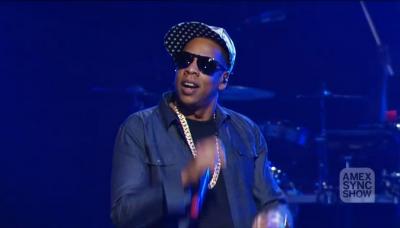 07 Jay Z Amex Sync Show