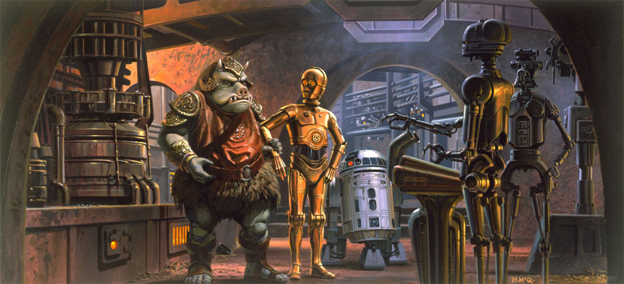 Ralph McQuarrie 1929-2012 / The Superslice