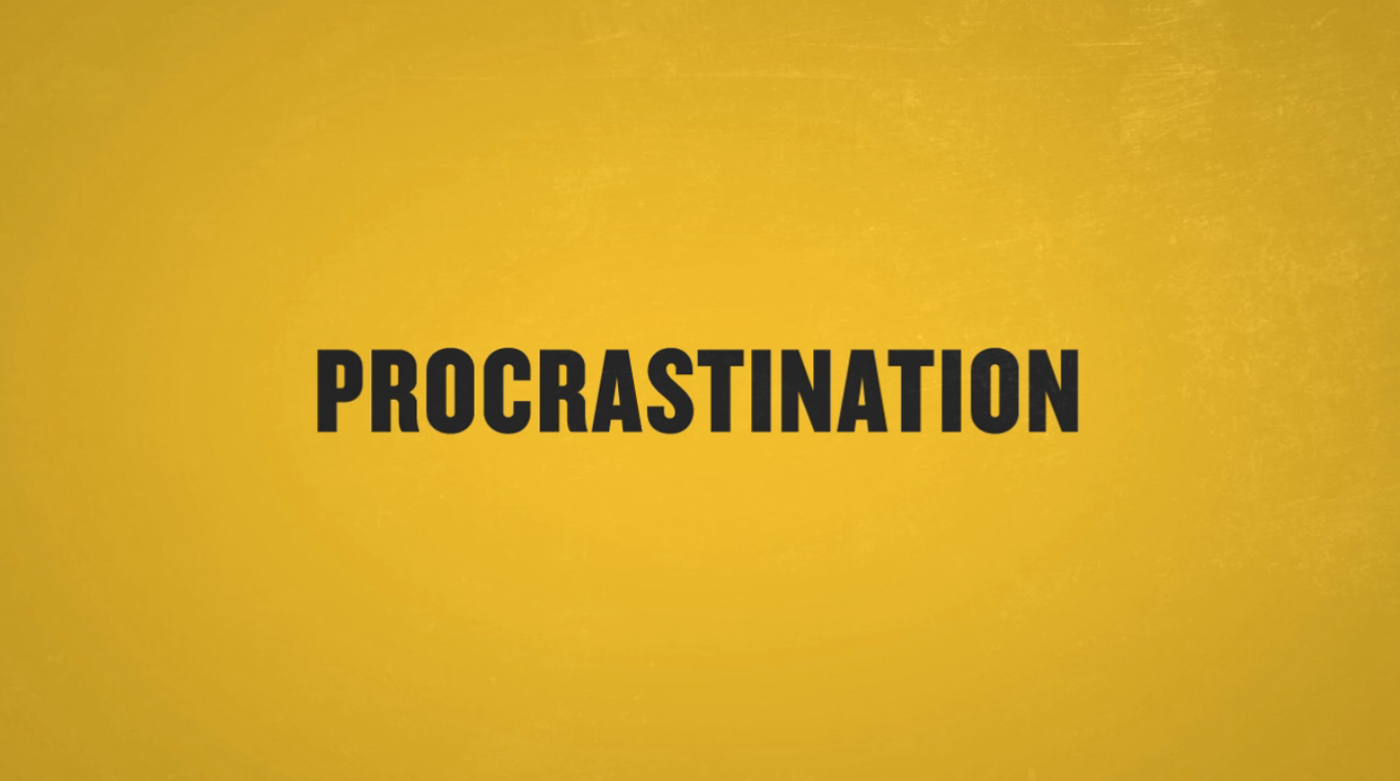 Procrastination / Ryan Perera / The Superslice