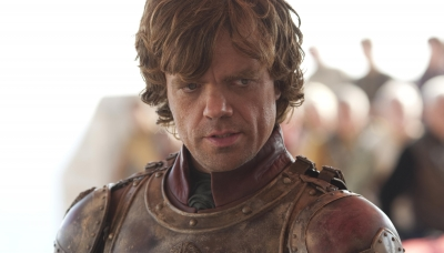 01 GoT Tyrion Lannister (Peter Dinklage). Photograph by Paul Schiraldi.