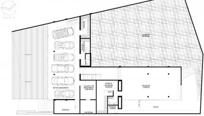 © Paul Czitrom basement floor plan