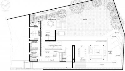 © Paul Czitrom ground floor plan