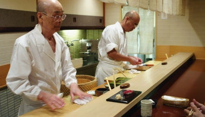 Jiro Ono and son Yoshikazu