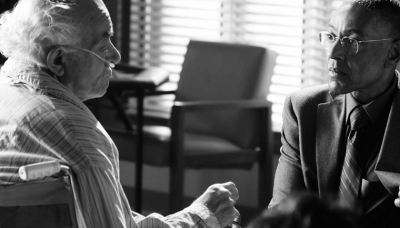 Tio Salamanca (Mark Margolis) and Gustavo Fring (Giancarlo Esposito) in Episode 11