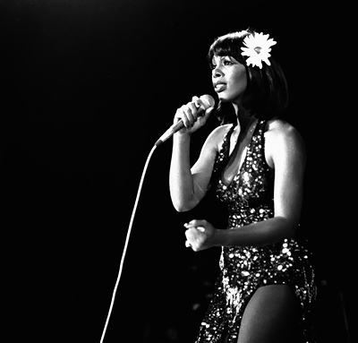Donna Summer performs in the early 1970s
