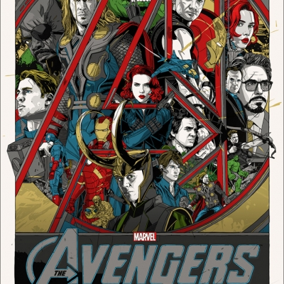 The Avengers by Tyler Stout