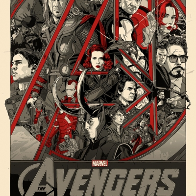 The Avengers by Tyler Stout (variant)