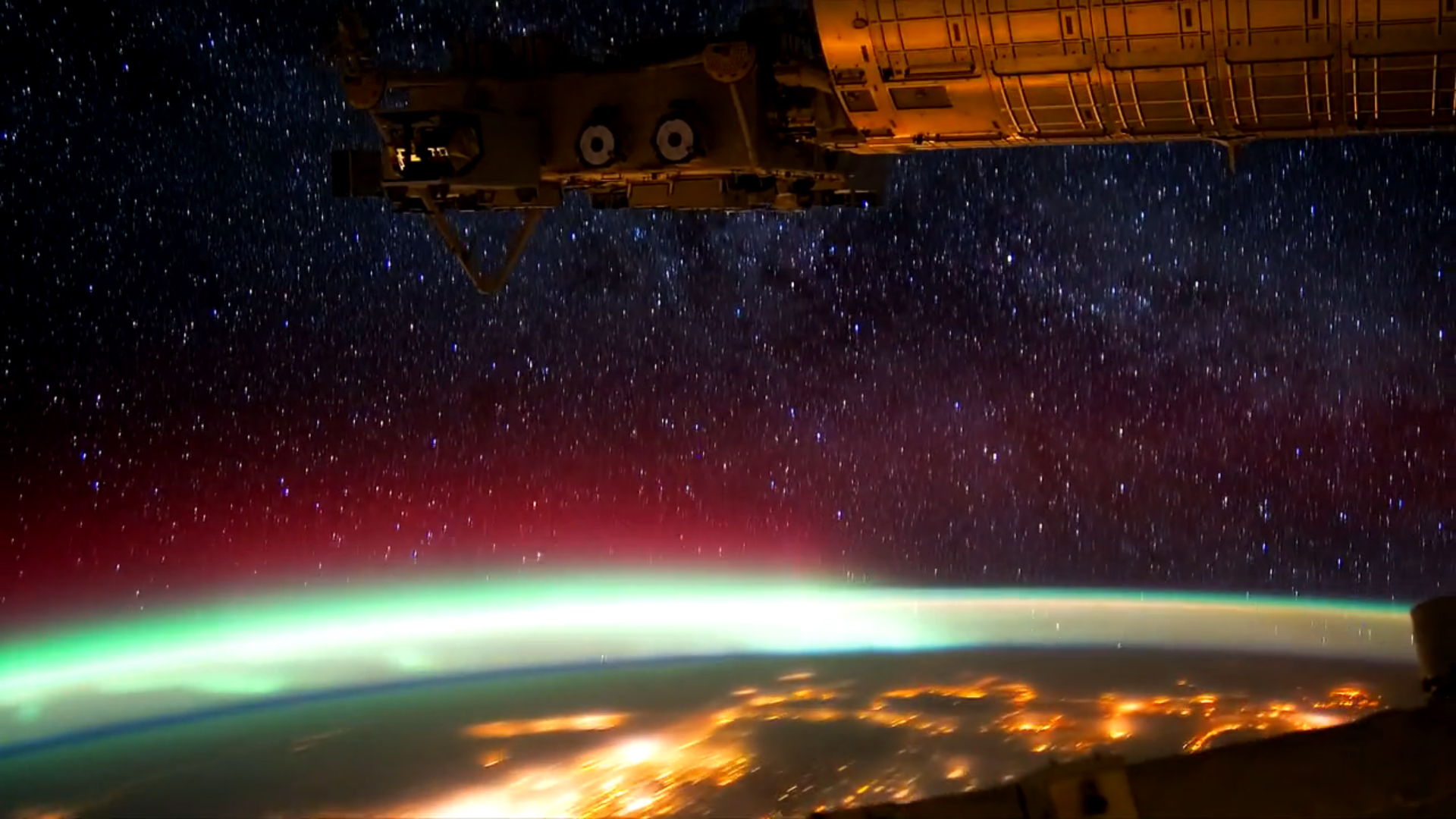 Image Gallery international space station time lapse