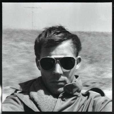 Early 01 Self Portrait, On the Road to Tijuana, circa 1960s
