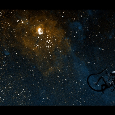 You Are My Lucky Star by Mark Englert, 12 x 36 inches (variant)