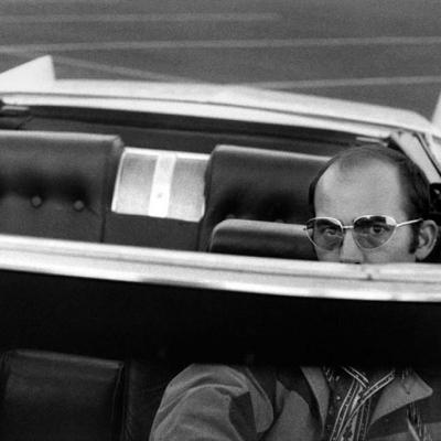Midlife 00 Self Portrait, In White Whale, Las Vegas, circa 1970s