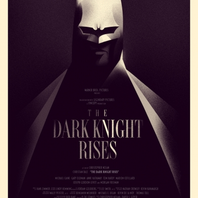 The Dark Knight Rises / Olly Moss