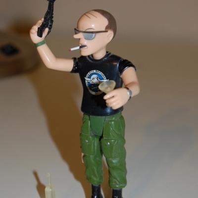 PC 14 Doonesbury's Uncle Duke action figure
