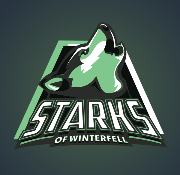 Yvan-Degtyariov-aka-Vanadium-Game-of-Thrones-Sports-Logos-Starks
