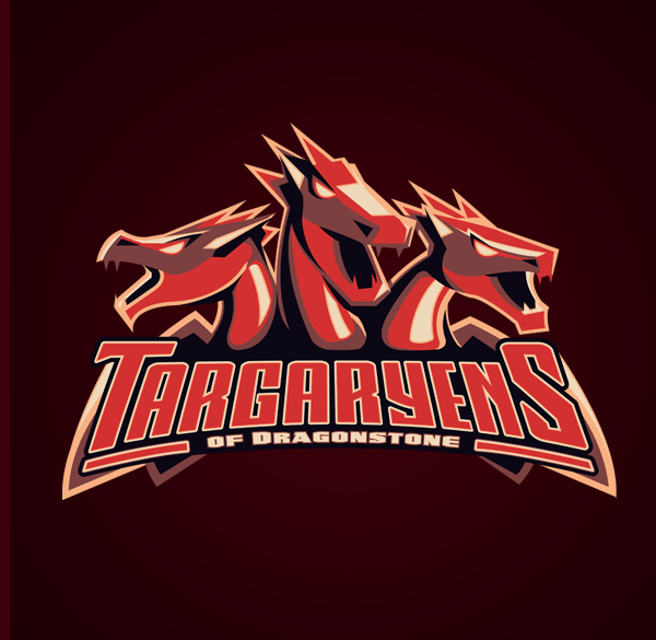 Yvan-Degtyariov-aka-Vanadium-Game-of-Thrones-Sports-Logos-Targaryens