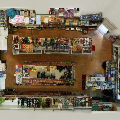 "Untitled (Corner Shop) 2008, 140 x 176 cm (55 x 69"")"