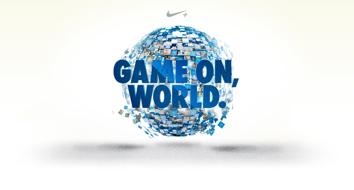 Game On, World. / NIKE / The Superslice