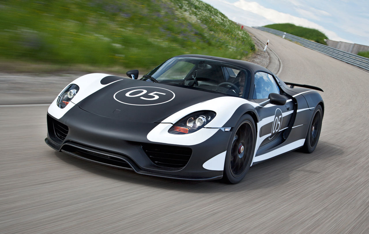 porsche 918 spyder hybrid the superslice