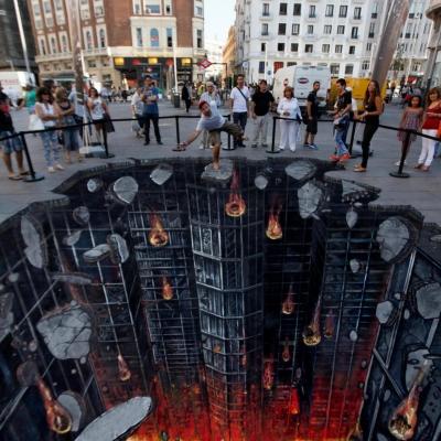 Dark Knight Rises street art