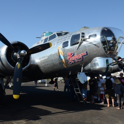 10 Boeing B-17 Flying Fortress
